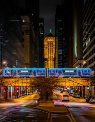 "CTA Holiday Train 2020 | ""Seasons Greetings"" at LaSalle Street, Chicago Board of Trade"