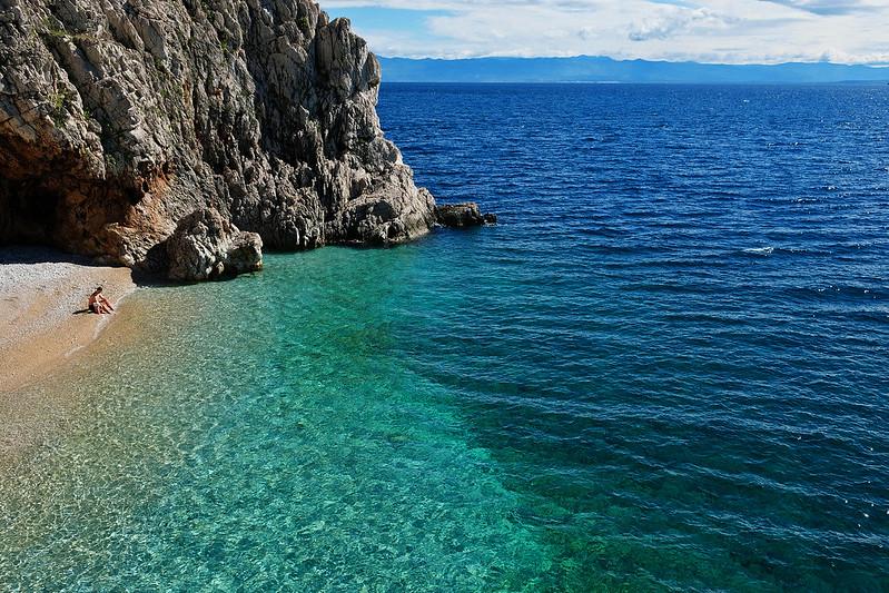 Brseč Beach, Istria, Croatia