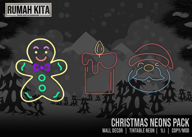 Rumah Kita - Christmas Neons Pack