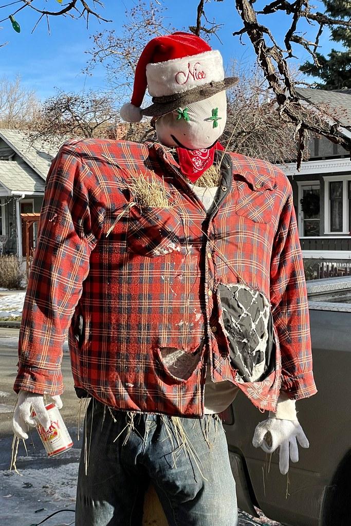Scarecrow Santa