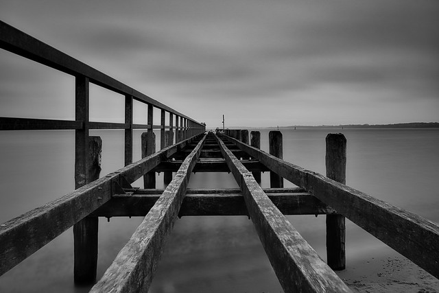 Steg in die Ostsee