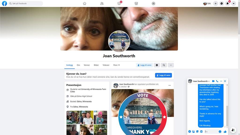 joan soutworth facebook 1