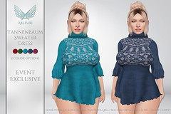 [Ari-Pari] Tannenbaum Sweater Dress