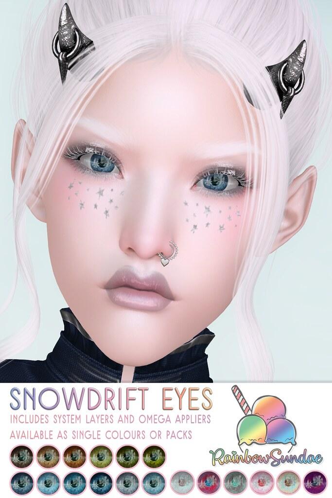 *Rainbow Sundae* Snowdrift Eyes @ Winter Spirit