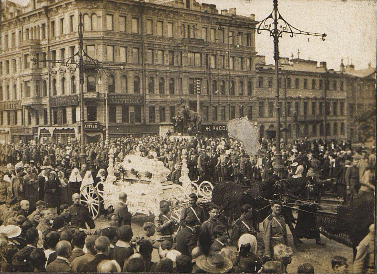 23. 15 июля. Похороны казаков - жертв событий 3-5 июля в Петрограде (3)