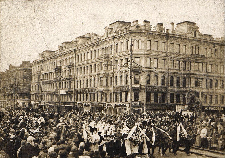 20. 15 июля. Похороны казаков - жертв событий 3-5 июля в Петрограде (5)