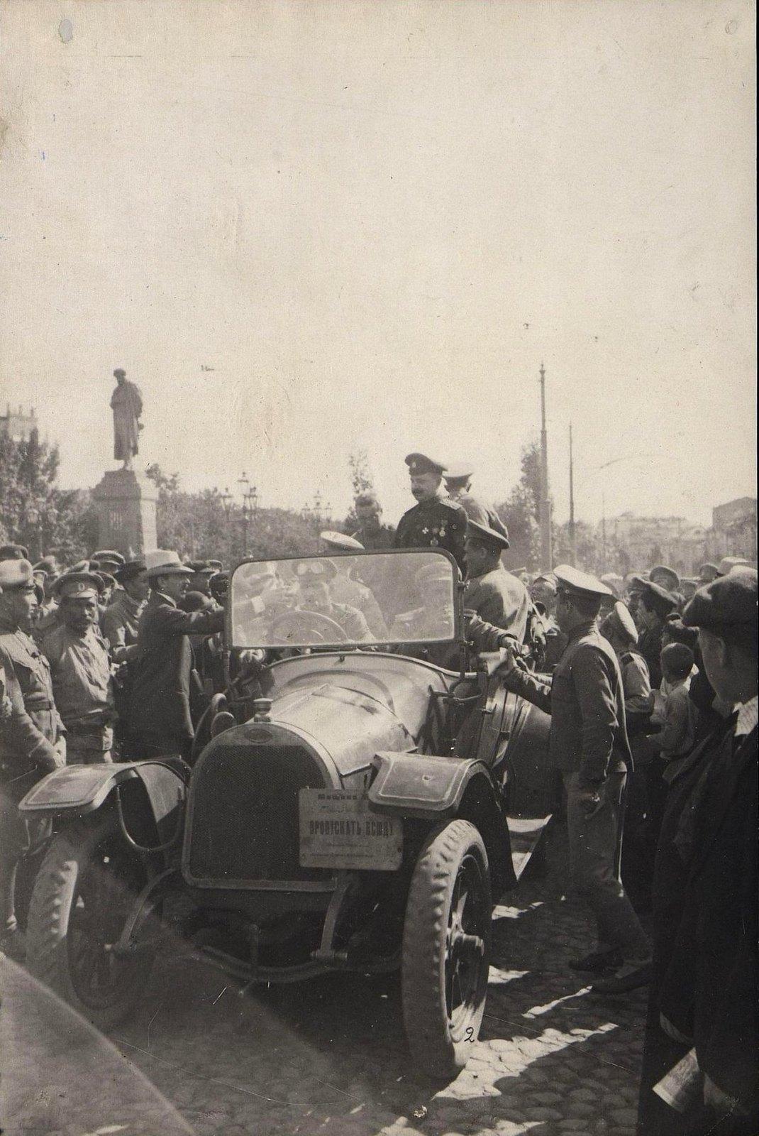 30. Митинг георгиевских кавалеров в Москве