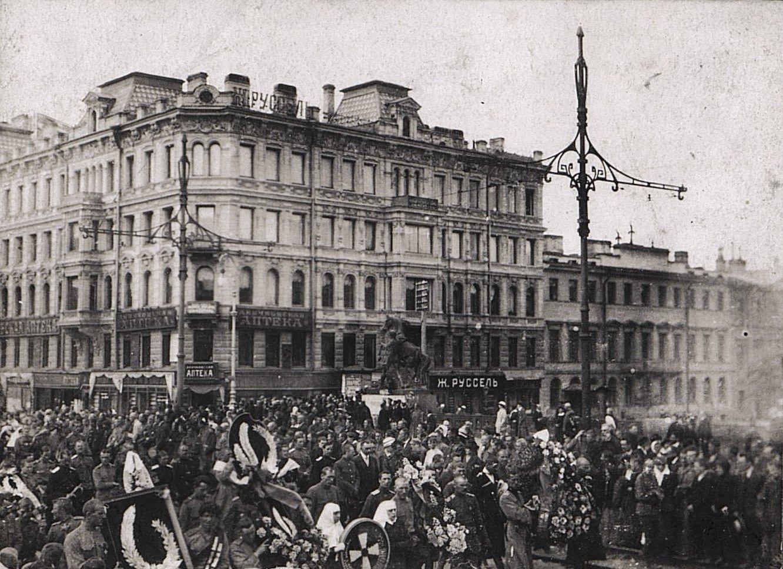 22. 15 июля. Похороны казаков - жертв событий 3-5 июля в Петрограде
