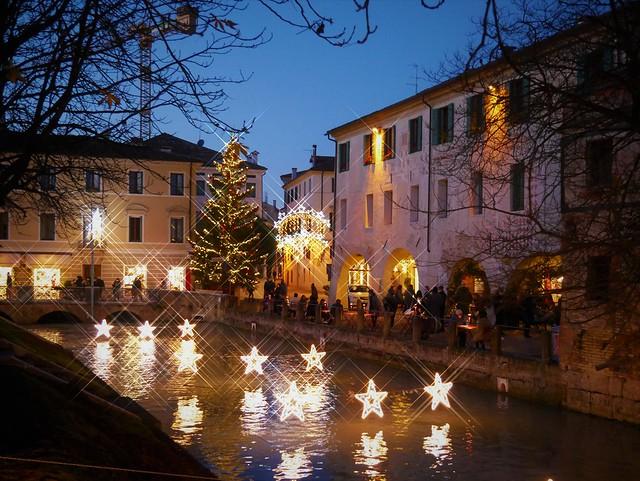 Treviso Chritsmas  lights