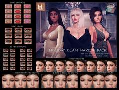 Voodoo - Holiday Glam Makeup Pack - Lelutka