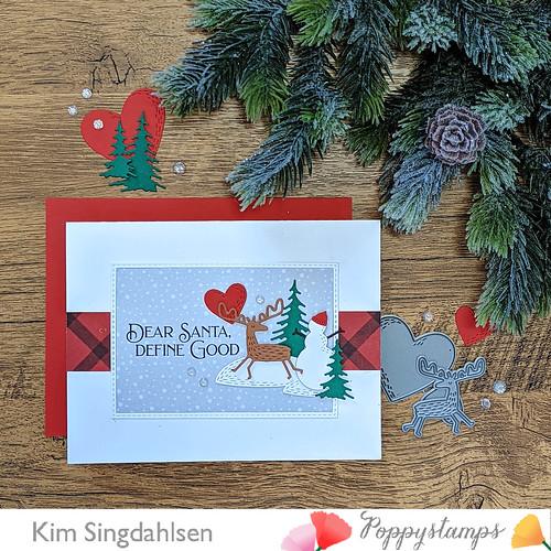 Poppystamps Dear Santa