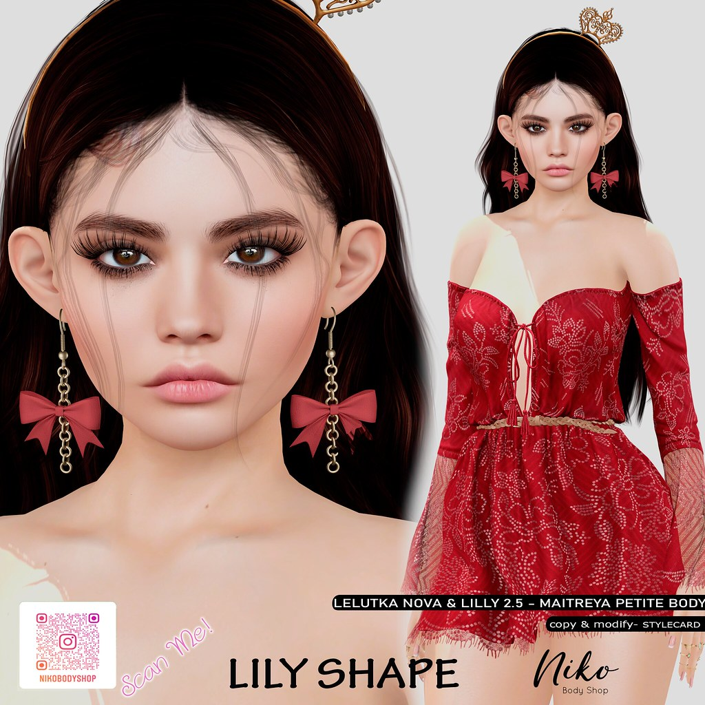 Lily Shape for Lilly/Nova (Available in Mainstore)