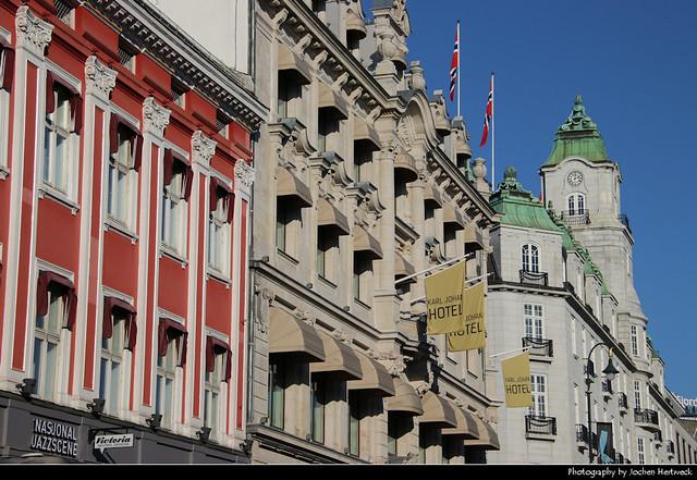 Karl Johans gate, Oslo, Norway