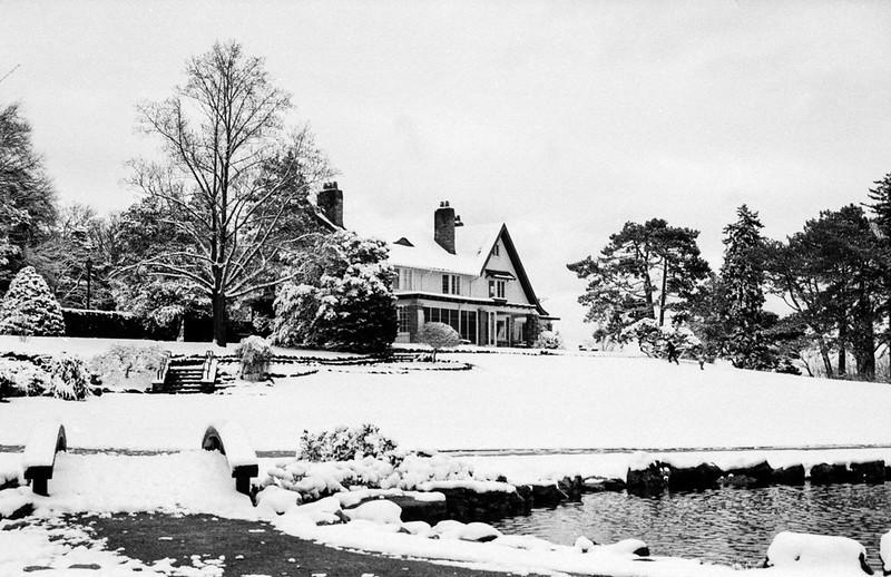 Gairloch Garden Winter Wonderland Main House