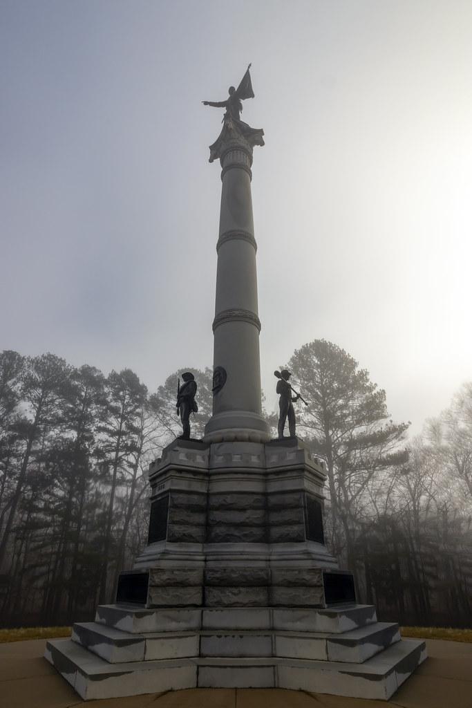 Kentucky monument, Chickamauga National Military Park, Walker County, Georgia 2