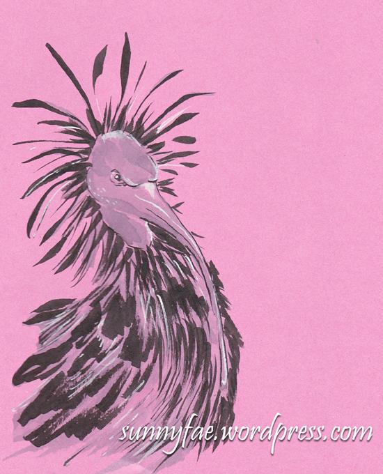 miriam the peeved ibis