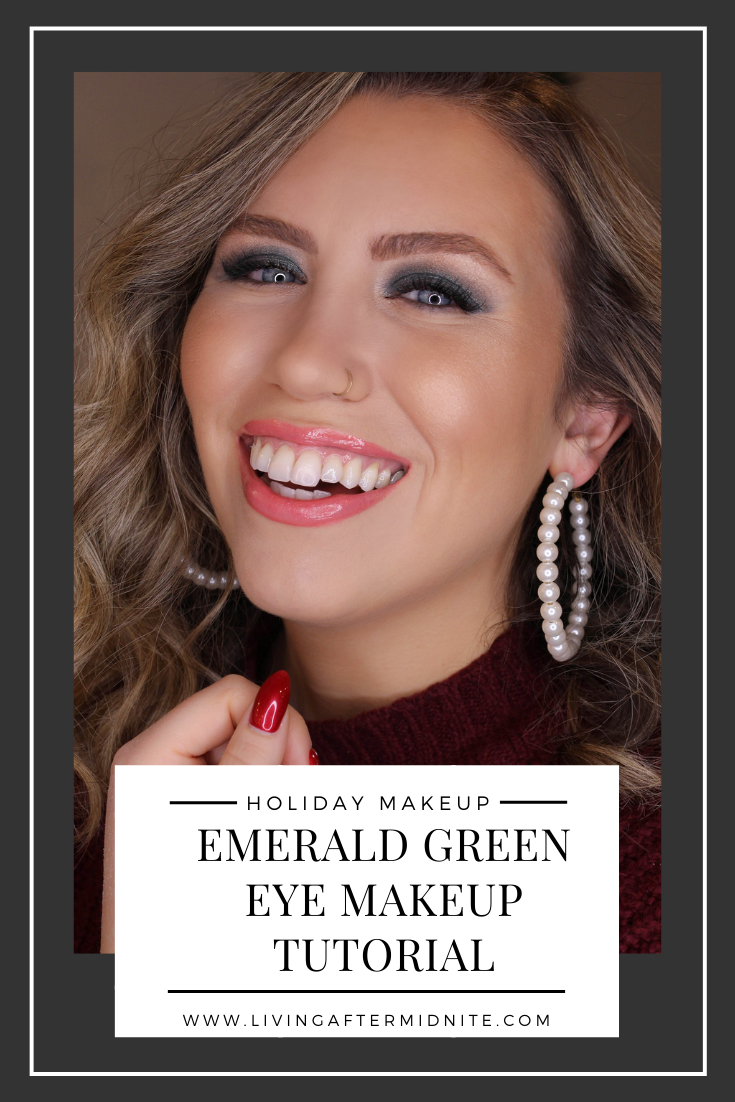Holiday Makeup Monday Tutorial: Emerald Green Eye Makeup | Christmas Makeup Looks | How to Wear Green Eyeshadow | Easy Colorful Eye Makeup Tutorial