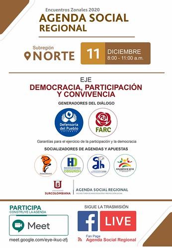 Ejes del Encuentro Social Regional Neiva