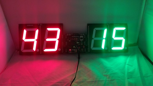 Bluetooth Controlled Digital Scoreboard based on Scoreduino-B (26)