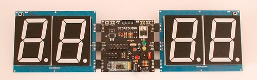 Bluetooth Controlled Digital Scoreboard based on Scoreduino-B (8)