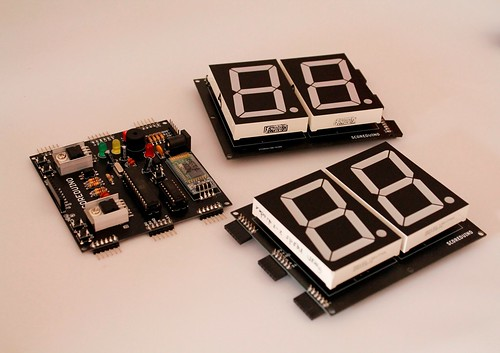 Bluetooth Controlled Digital Scoreboard based on Scoreduino-B (5)