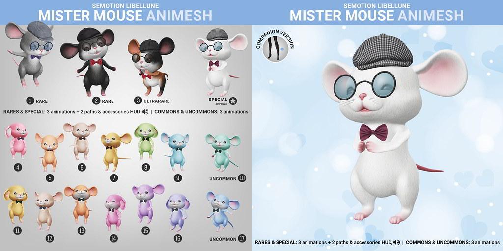SEmotion Libellune Mister Mouse Animesh