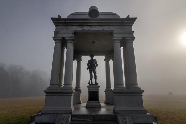 Florida monument, Chickamauga National Military Park, Walker County, Georgia 2