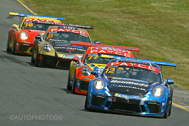 Leader of the pack #12 Harri Jones - Porsche 991 Gen II        GT3 - Sandown M'Sport Festival 2020 - 5D4_7423