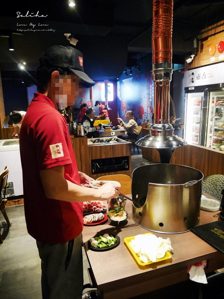 新北板橋一日遊餐廳美食推薦雅香石頭火鍋食材推薦食記心得分享湯頭好喝聚餐 (3)