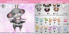 SEmotion Libellune Miss Mouse Animesh
