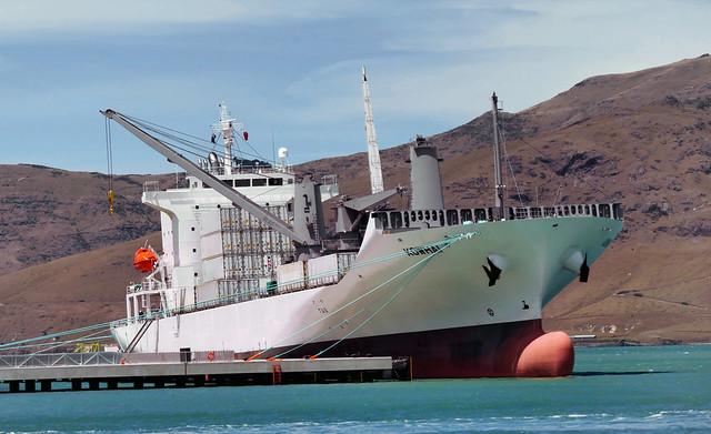 KOWHAI Refrigerated Cargo Ship,