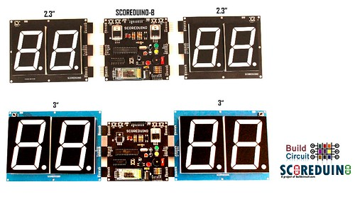 Bluetooth Controlled Digital Scoreboard based on Scoreduino-B (29)