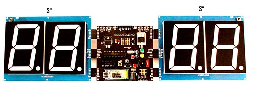 Bluetooth Controlled Digital Scoreboard based on Scoreduino-B (17)