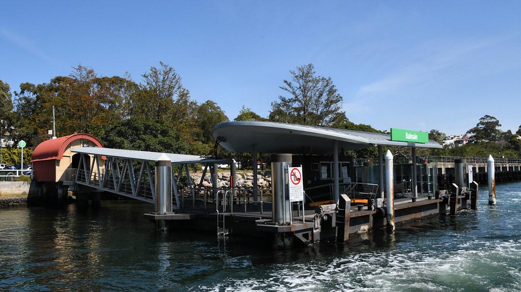 Balmain Wharf, Balmain, Sydney, NSW.