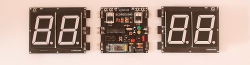 Bluetooth Controlled Digital Scoreboard based on Scoreduino-B (2)