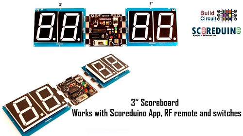 Bluetooth Controlled Digital Scoreboard based on Scoreduino-B (18)