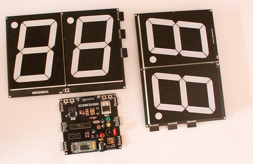 Bluetooth Controlled Digital Scoreboard based on Scoreduino-B (11)