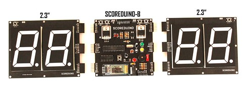 Bluetooth Controlled Digital Scoreboard based on Scoreduino-B (3)