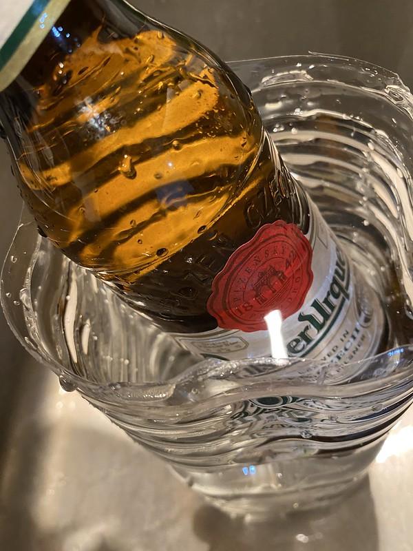 ビールのラベルはがし_03