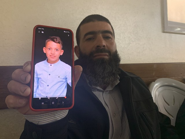 5845 Palestinian boy shot dead on his birthday by Israeli forces