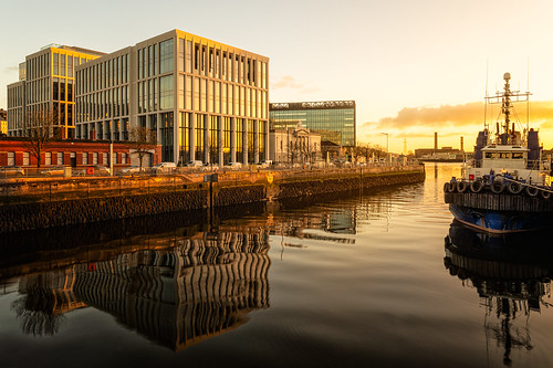 corkcity portofcork riverlee sunrise penrose dock quay