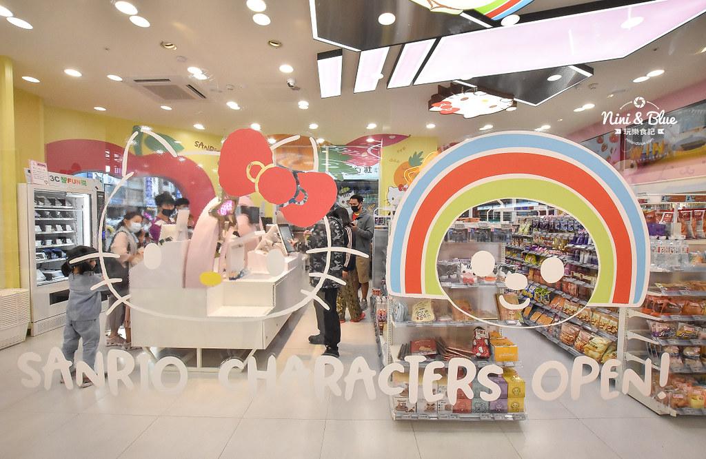 kitty &X-Store台中三麗鷗聯名7-11商店14