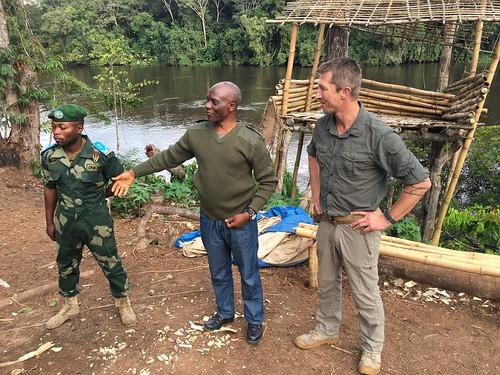 Kurt, CdS and Mungbere at Kakongo