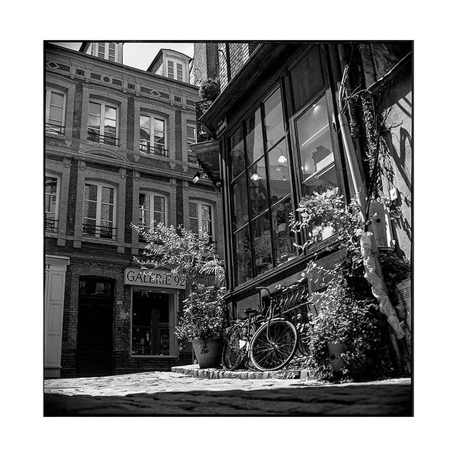 corner • honfleur, normandy • 2019