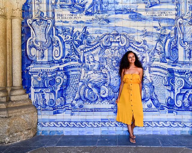Azulejos de la Catedral de Oporto