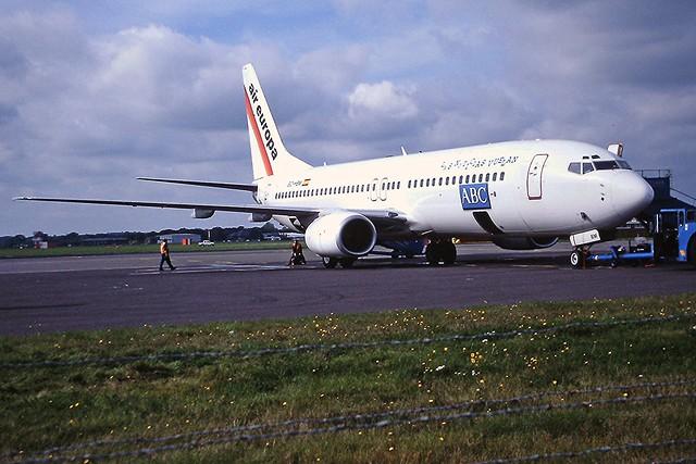 EC-HBM B737-800 air europa Bournmouth 21-10-2001