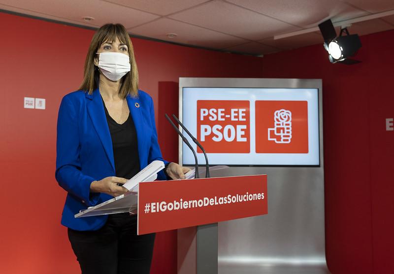 2020.12.14 Rueda de prensa de Idoia Mendia