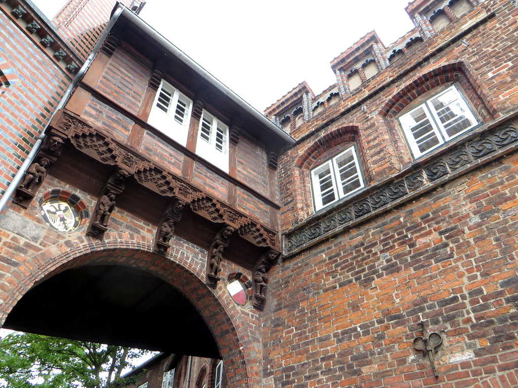Marstall, Große Bürgstraße,  Lübeck, Schleswig-Holstein, Allemagne.