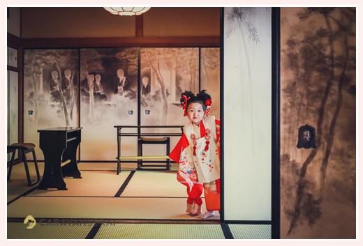 興正寺で七五三の前撮り 茶室も借りて