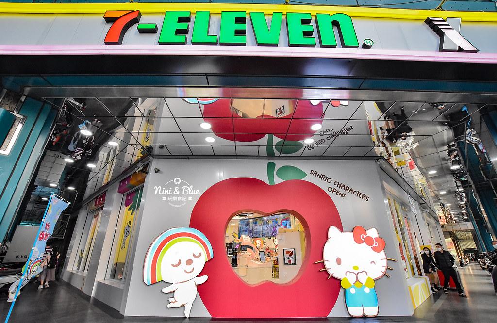 kitty &X-Store台中三麗鷗聯名7-11商店29